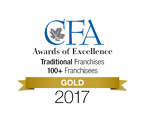 Canadian Franchise Association Gold Award of Excellence