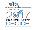 Canadian Franchise Association 2017 Franchisees' Choice